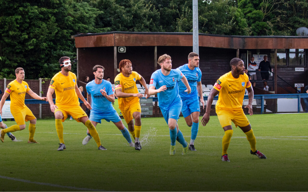 WINNING RUN CONTINUES AS BLUES BEAT ROMFORD Featured Image