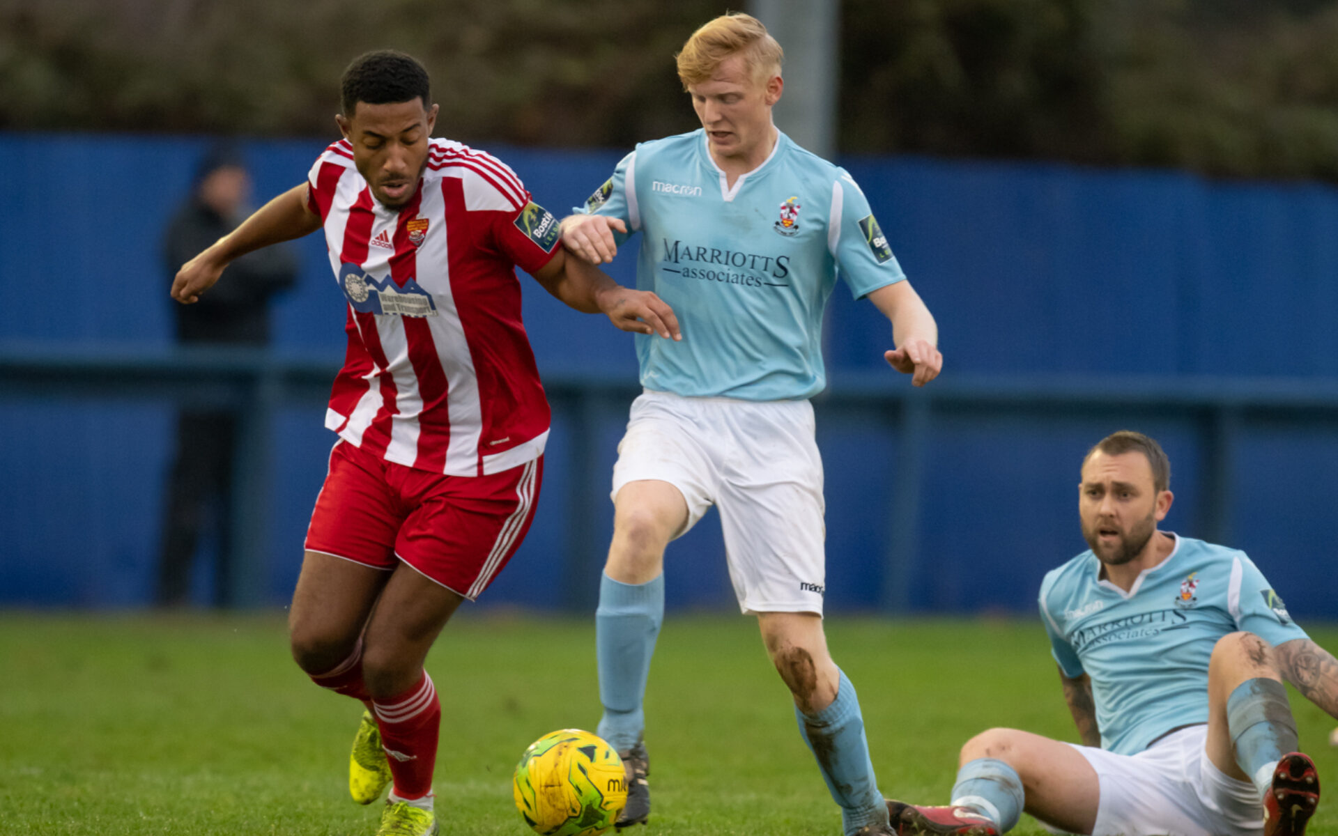 THREE LATE GOALS FOR BLUES IN WIN OVER FELIXSTOWE Featured Image